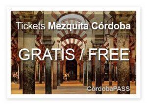 Tickets y entradas Mezquita Córdoba gratis