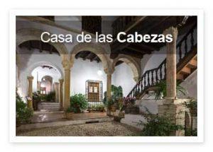 Museo Patio Casa de las Cabezas. Entradas gratis y visitas guiadas.
